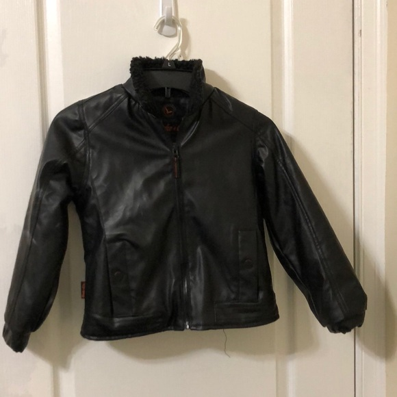 Tony Hawk Other - Boys faux lined leather jacket